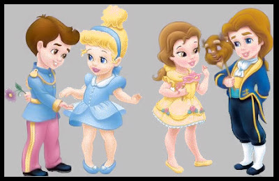 Princesas Disney  Babies