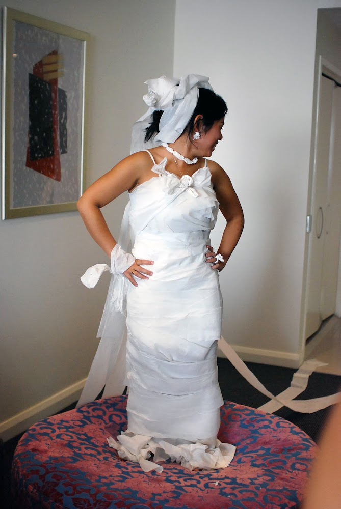Dress wedding party games