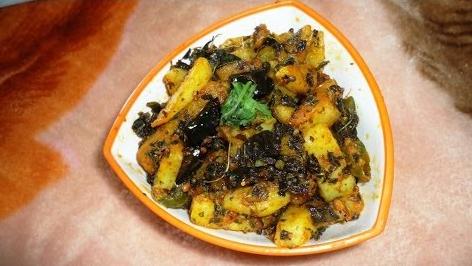 आलू कचालू की लजीज सब्जी