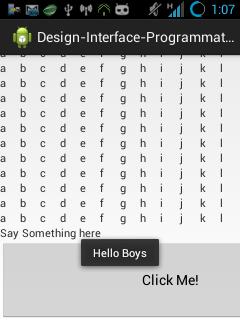 Membuat Desain Interface Android Dinamis Dari Kode Program Tanpa XML
