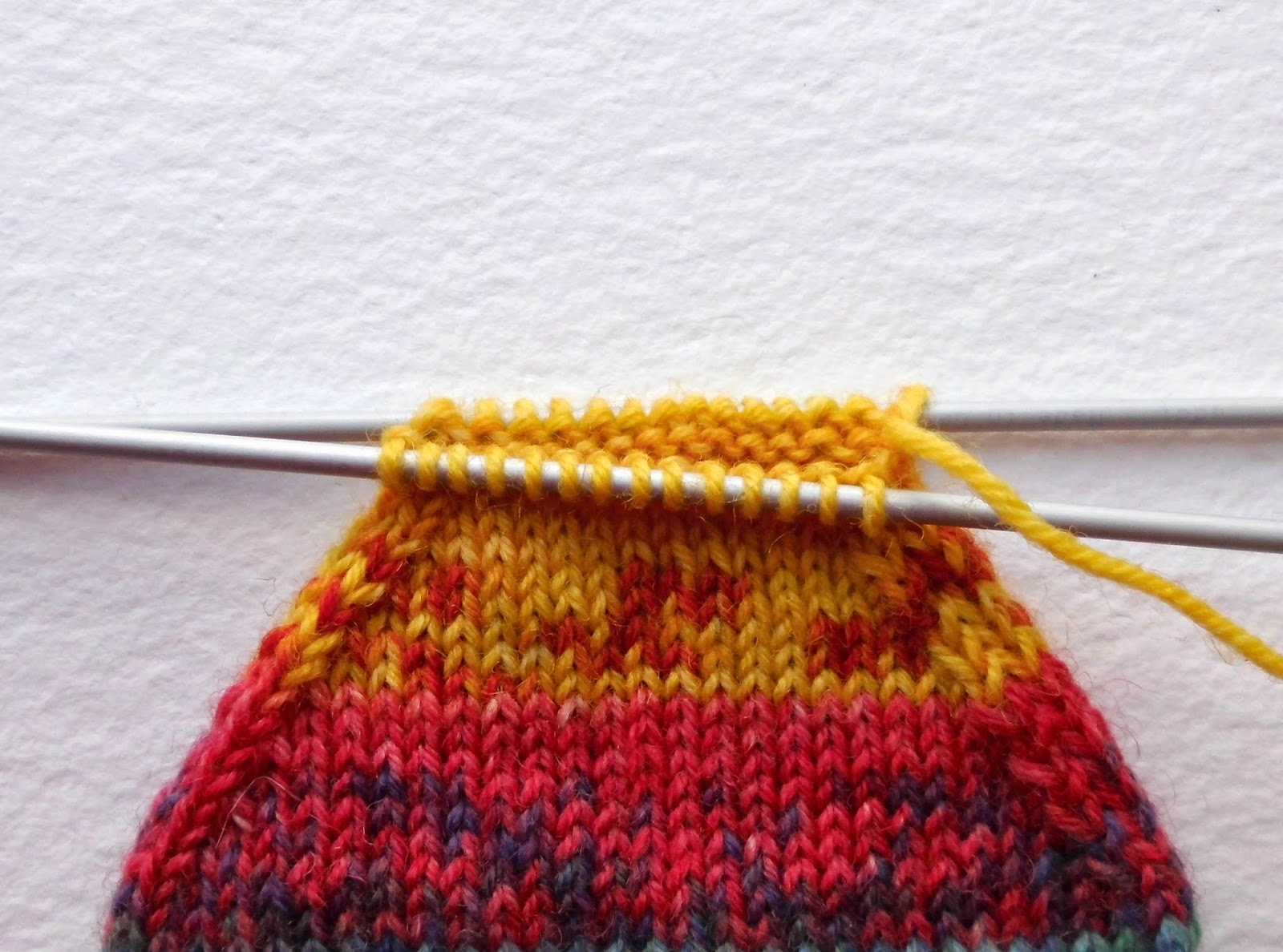 How Do You Graft Knitting Stitches Together : Winwick Mum: Beginner sock knitting: Sockalong - Week 3 - Foot, toe and graft...
