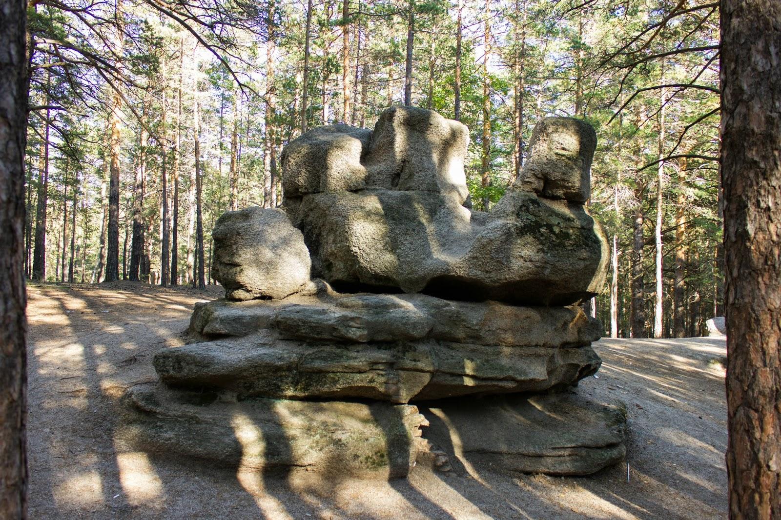 Казахстан, Боровое, Бурабай, Каменный верблюд