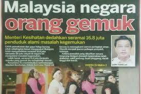 Malaysia negara orang gemuk
