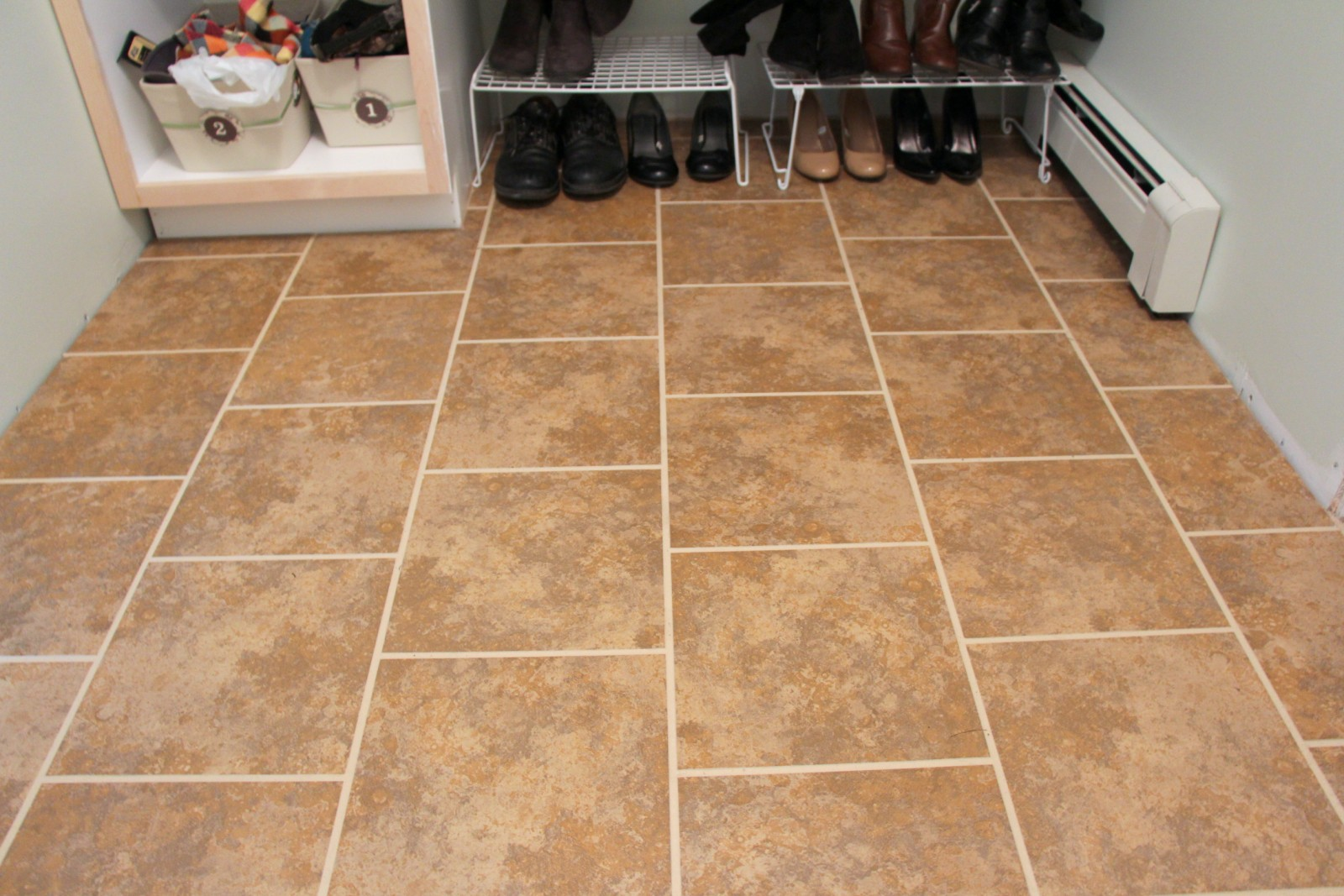 Heart Maine Home: A review of SnapStone floating tile floor