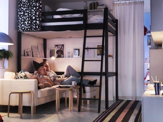 lifestyledeco: Spécial rentrée : Optimiser l\'espace d\'un studio