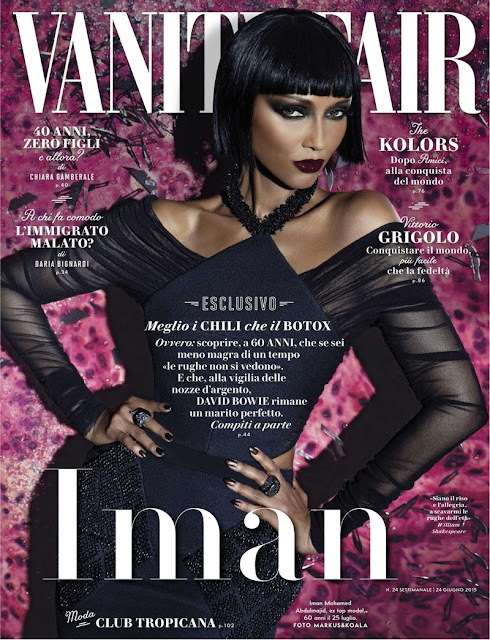 Actress, Model @ Iman Abdulmajid for Vanity Fair Italia June 2015