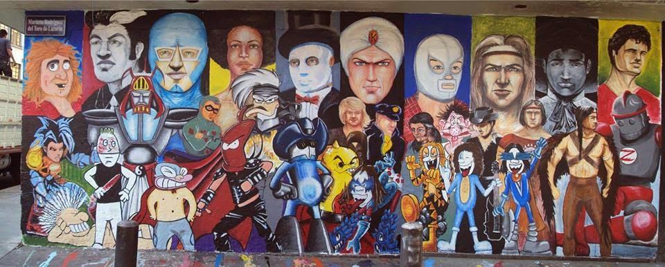 MURAL EN LA CIUDAD DE MÉXICO