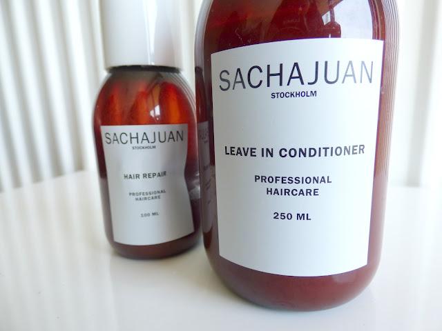 Leave in conditioner de Sachajuan