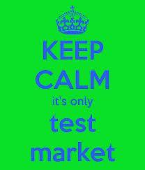 test market, cari jodoh, test market atas manusia