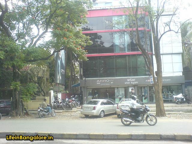 Arrow Indiranagar 100ft road