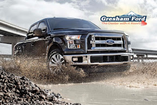 2016 Ford F-150 now available at Gresham Ford
