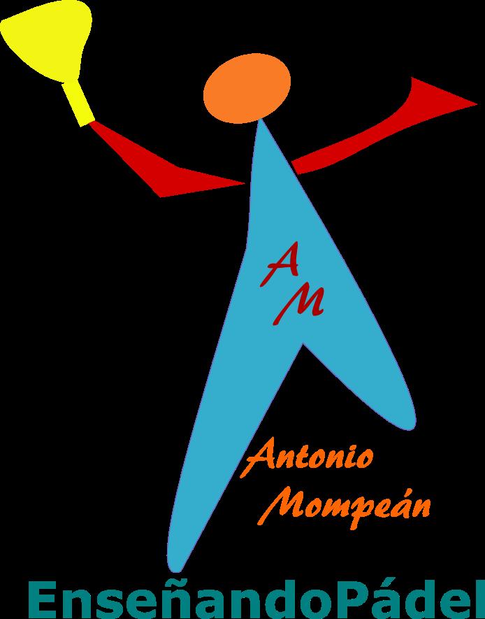 Logo representativo de la imagen corporativa del Entrenador y Monitor de Pádel Antonio Mompeán