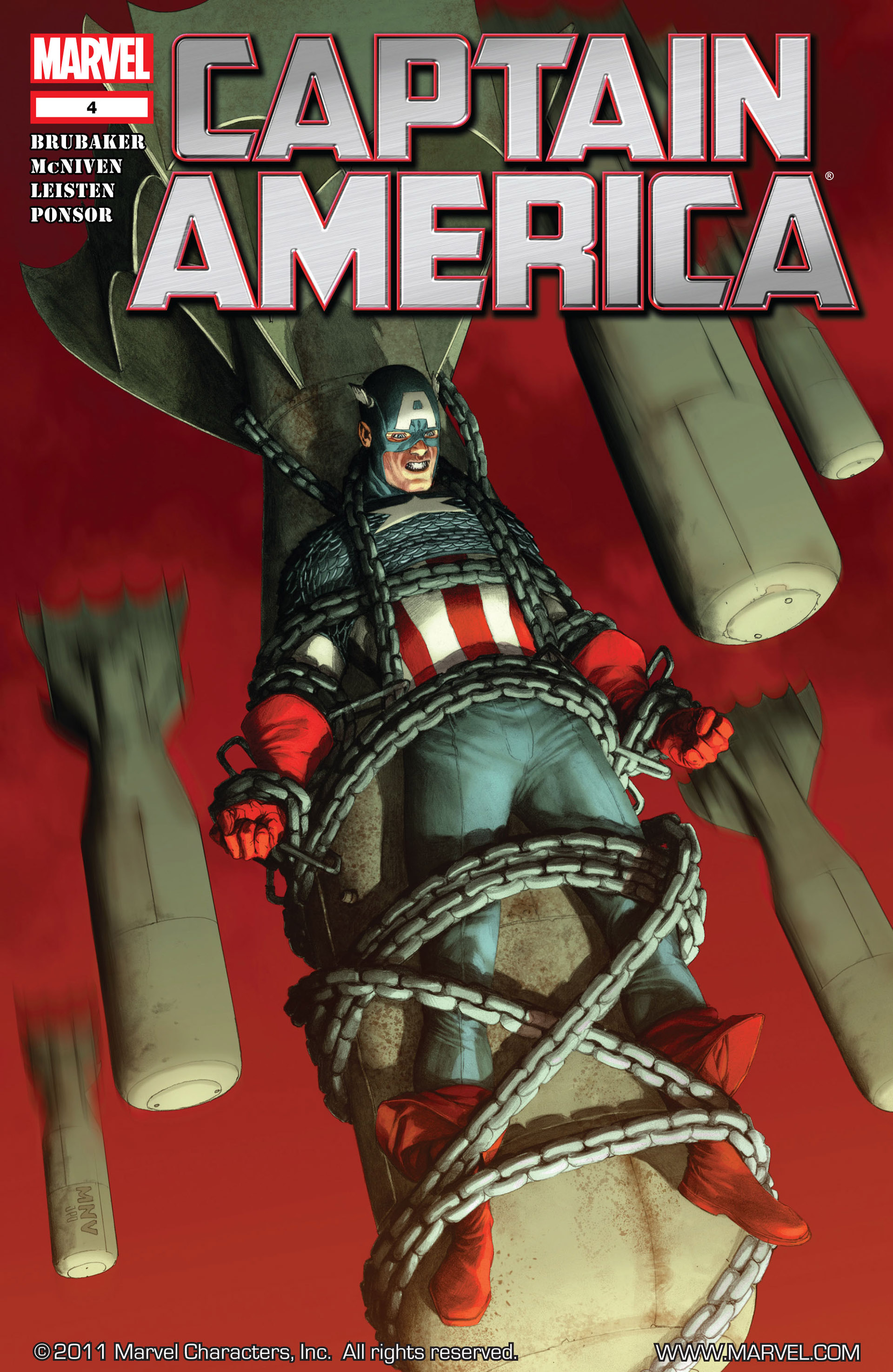 Captain America (2011) Issue #4 #4 - English 1