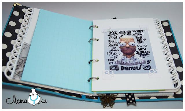 Записная книжка своими руками, хэндмэйд