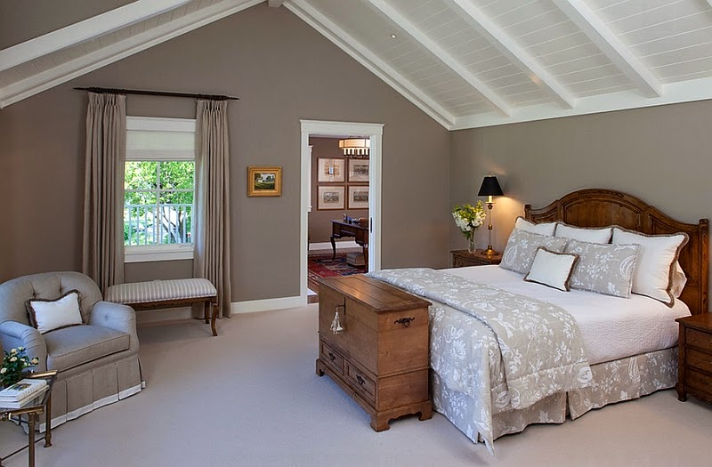 Simple but brilliant slanted ceiling design ideas