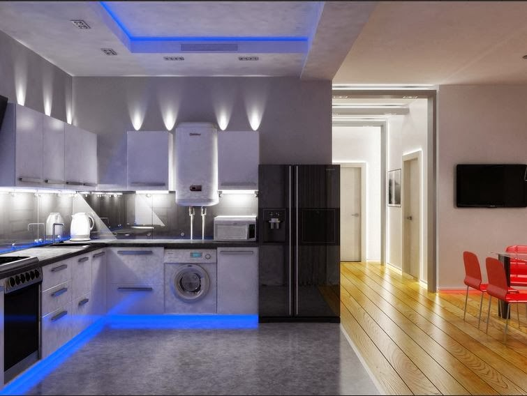 how to install can lights in kitchen ceiling