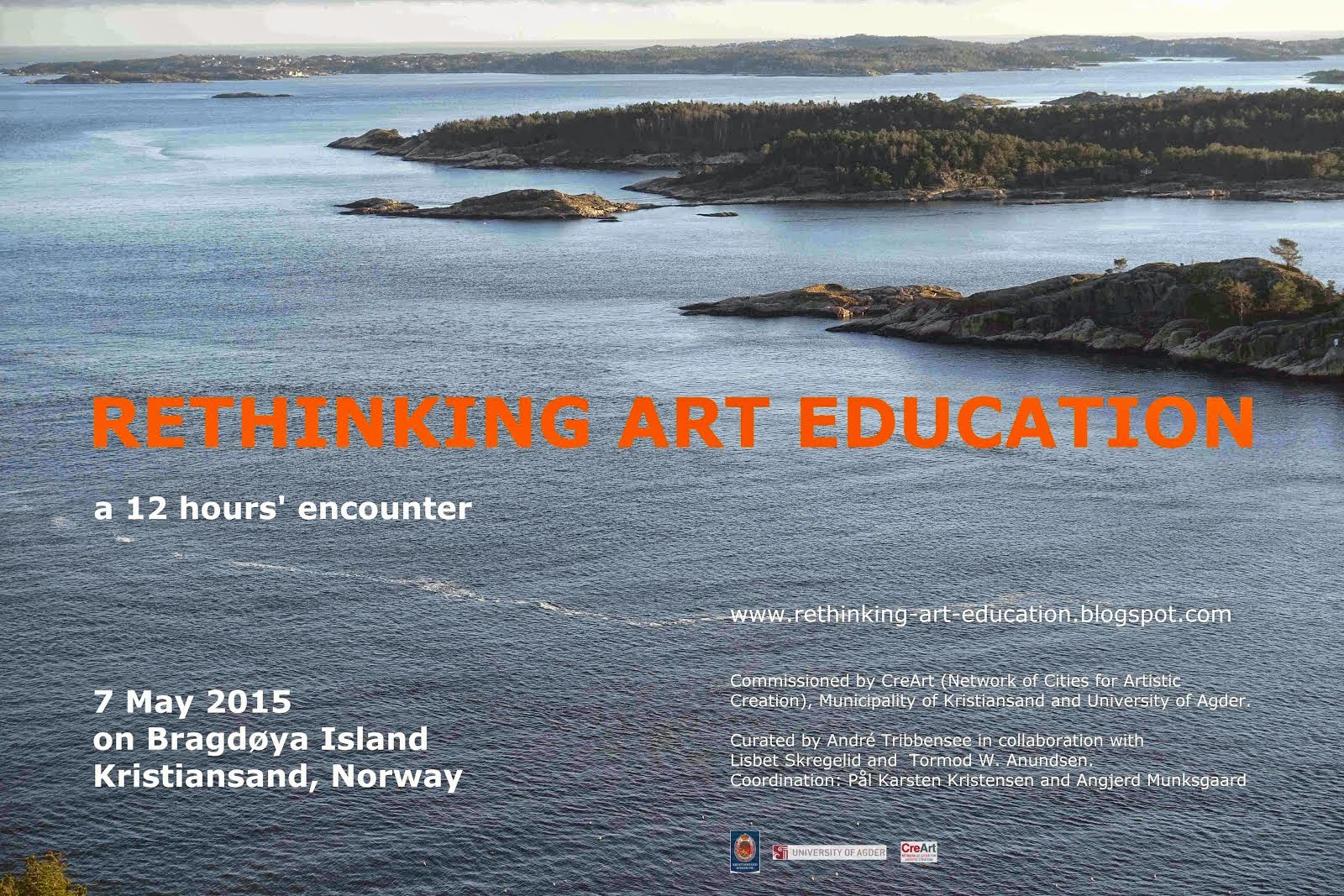 next project: RETHINKING ART EDUCATION, 7 May 2015