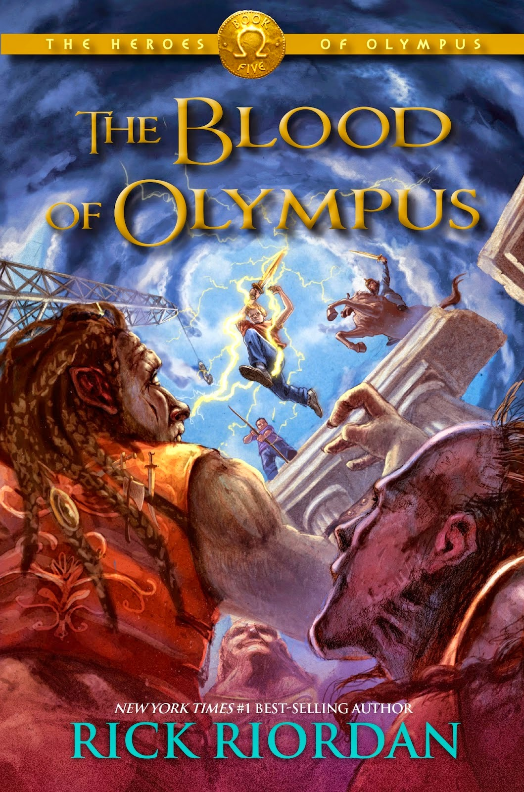 Cover of The Blood of Olympus by Rick Riordan