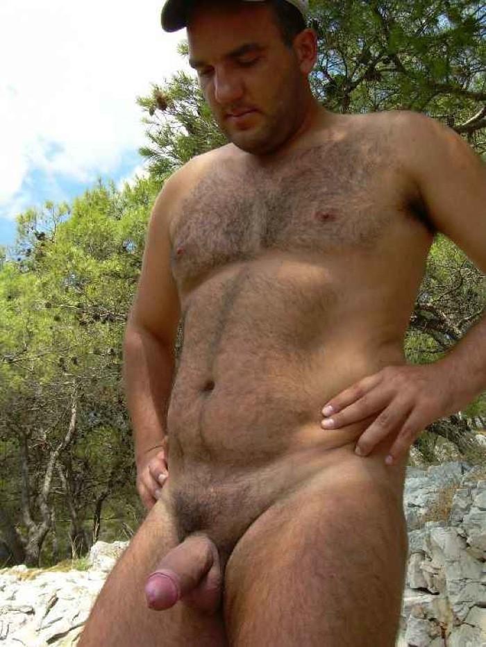 Hairy Chest Gay Men
