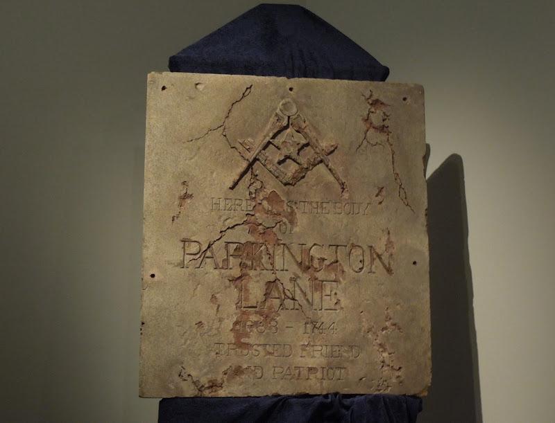 National Treasure Parkington Lane crypt cover prop
