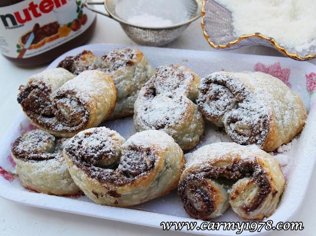 prussiane nutella e cocco