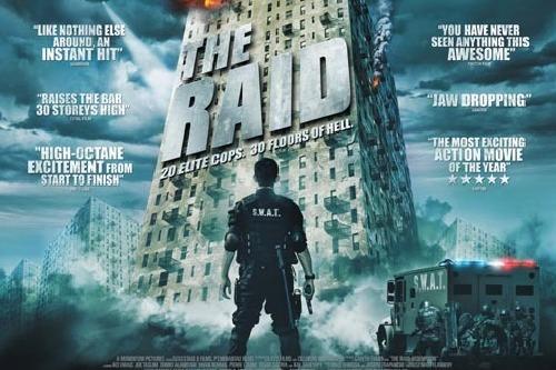 The Raid Masuk Jajaran Film Terbaik 2012