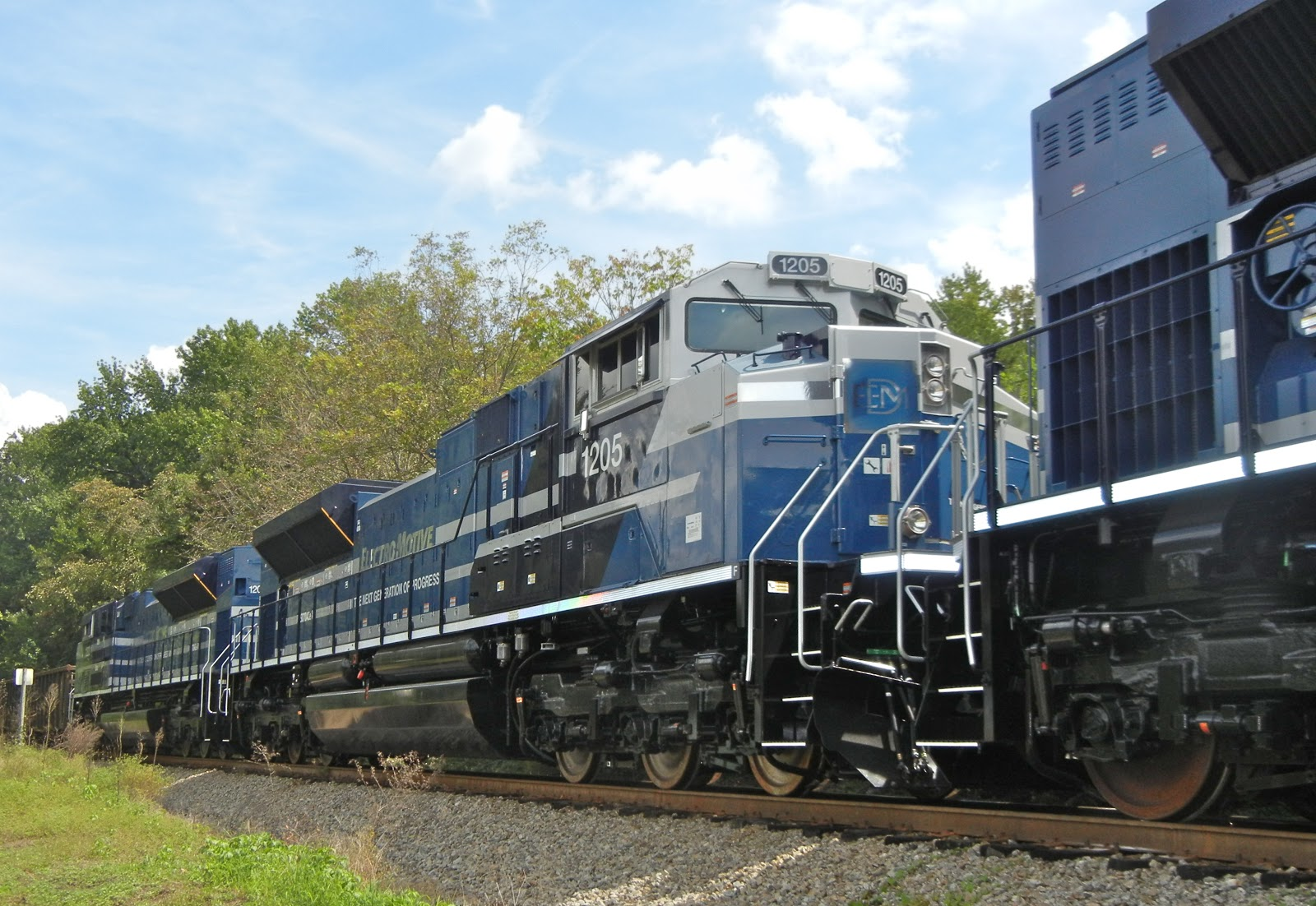 Emd Sd70ace P6 Demonstrators Train Profiles