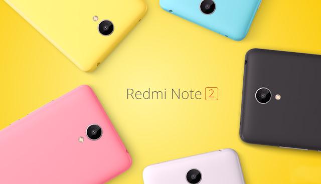 Xiomi Luncurkan Redmi Note 2, Harga Rp 2 Jutaan