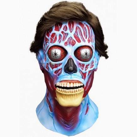 Máscara Están Vivos de John Carpenter