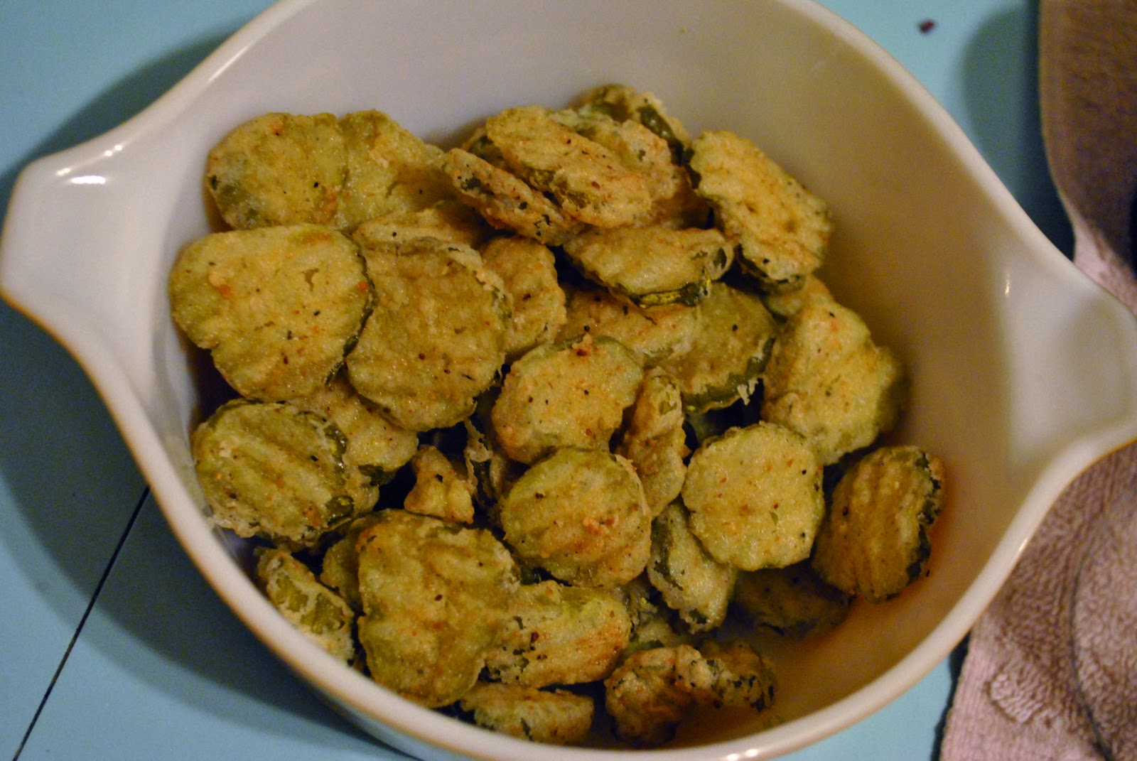 FRIED PICKLES!!!!!