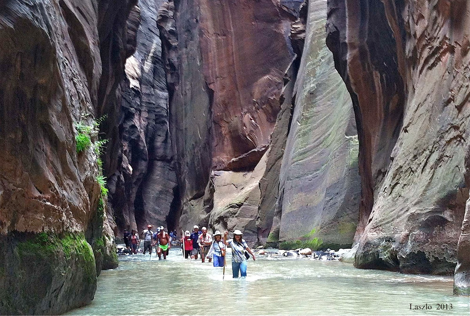 Around the Bend Friends Hiking Club of Las Vegas: Zion ...