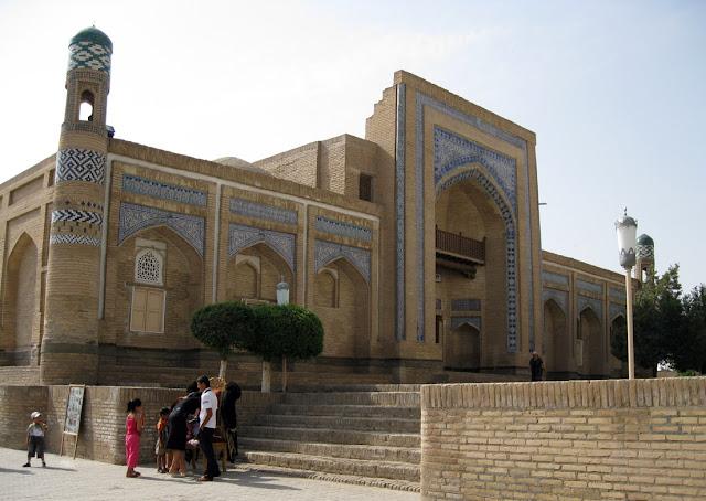 Uzbekistán, Khiva - Madrasa Mohammed Amin Khan