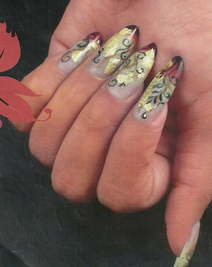 17 con tips make artist and nail art esculpidas decoradas decoradas ...