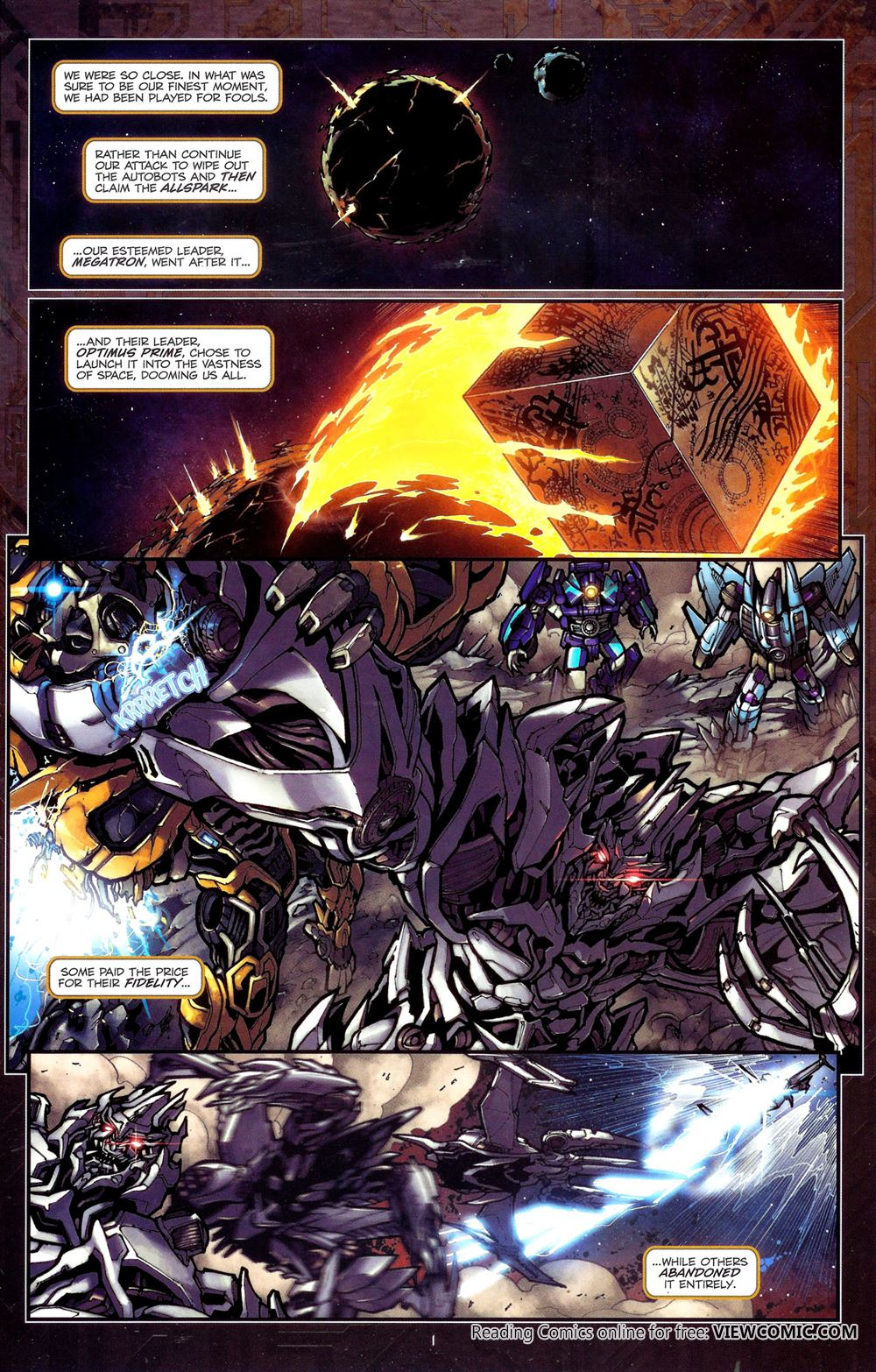 Transformers – The Reign Of St...