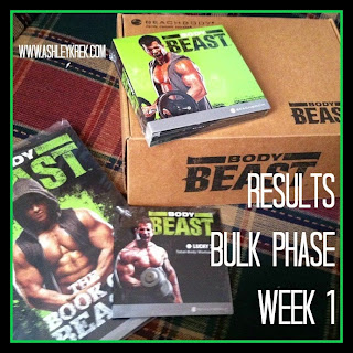 Woman's Results Body Beast