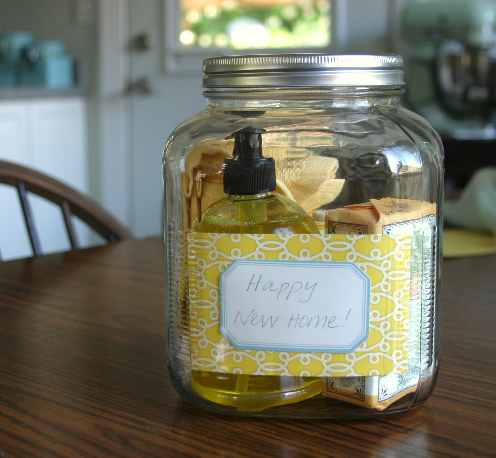 Make Bake And Love Happy New Home Gift Idea