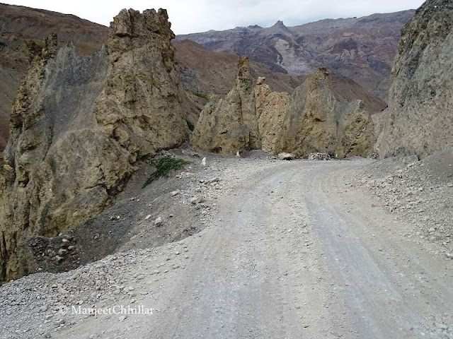 Road Conditions in Lahual-Spiti, Himachal Pradesh