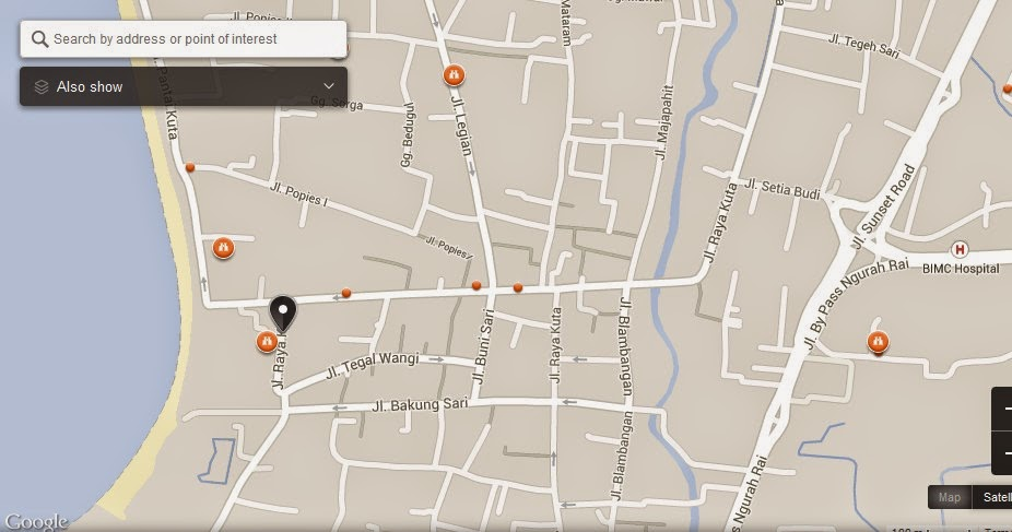 Map of Espresso Bar Kuta Bali Indonesia,Espresso Bar Kuta Bali Map,Tourist Attractions In Bali,Things to do in Bali Island,Espresso Bar Kuta Bali Indonesia accommodation destinations attractions hotels map reviews photos pictures