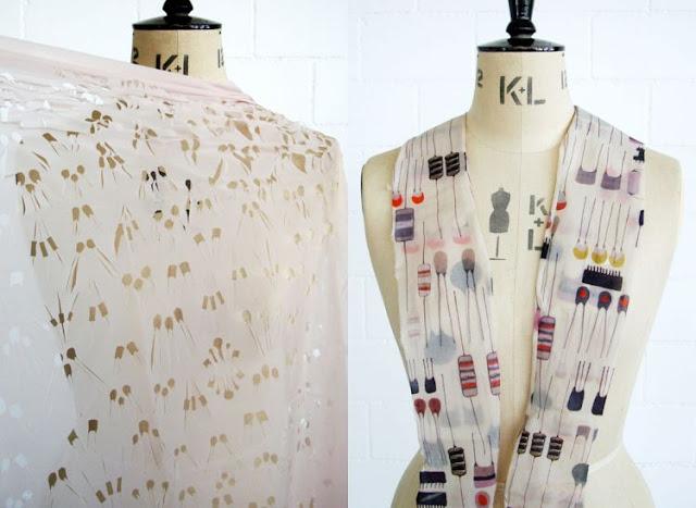 Textildesign, fashion