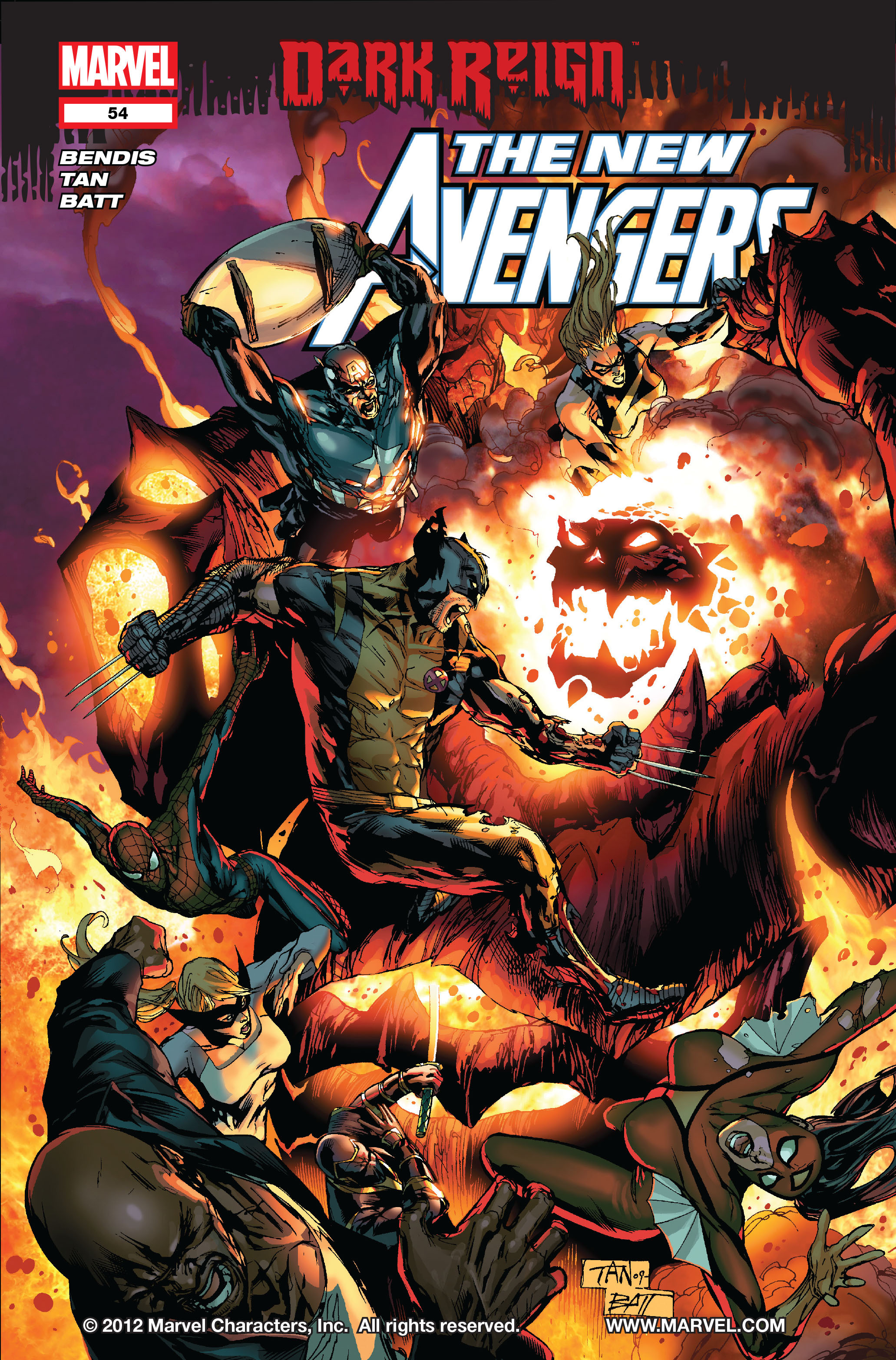 New Avengers (2005) issue 54 - Page 1