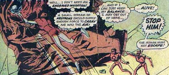 Atlas Comics, Phoenix #1, escape