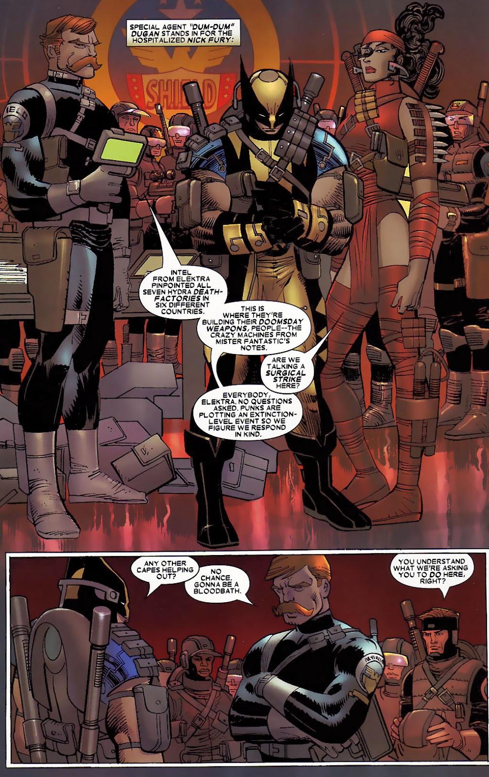 Read online Wolverine (2003) comic -  Issue #30 - 8