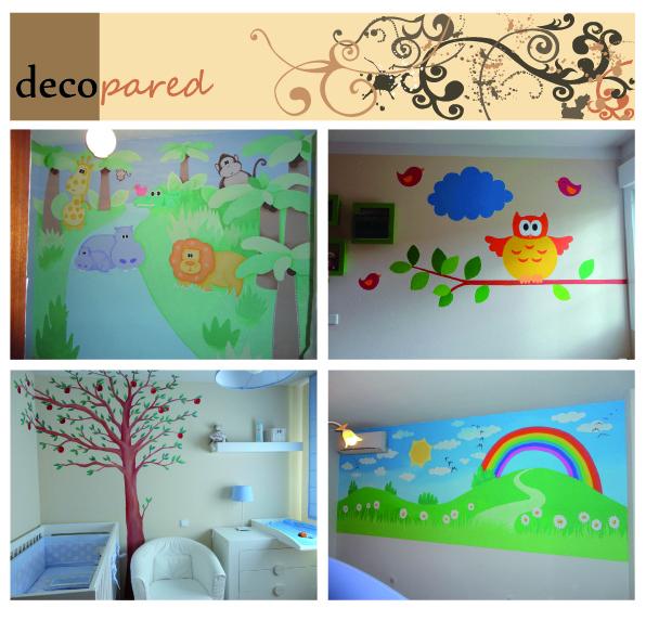 Decopared julio 2012 - Decoracion infantil paredes ...