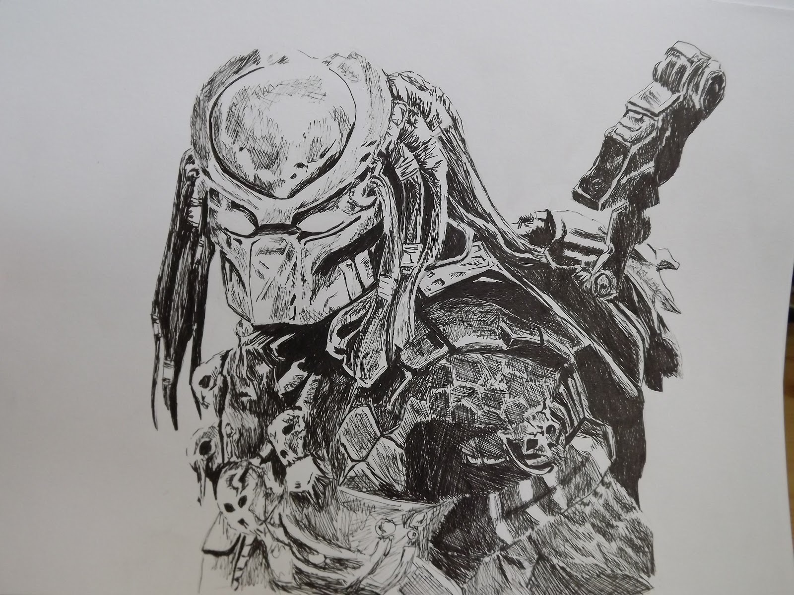 aliens vs predator drawings - photo #12