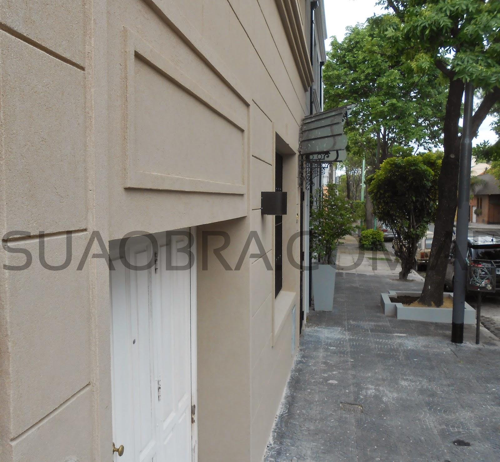 Tarquini revestimiento de paredes exteriores aplicacion - Revestimiento de fachadas exteriores ...