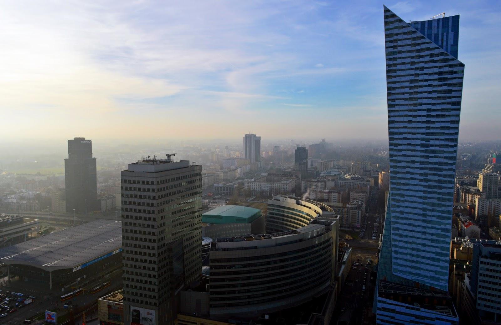 Warszawa - Widok z góry