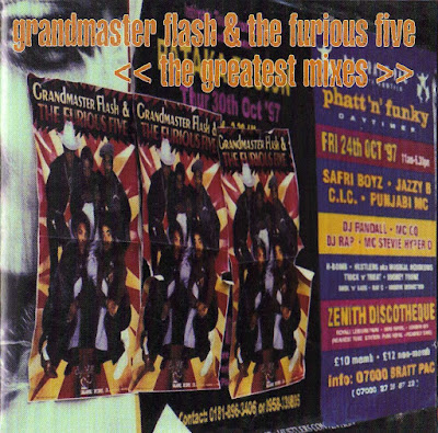 Grandmaster Flash & The Furious Five – The Greatest Mixes (1997) (CD) (FLAC + 320 kbps)