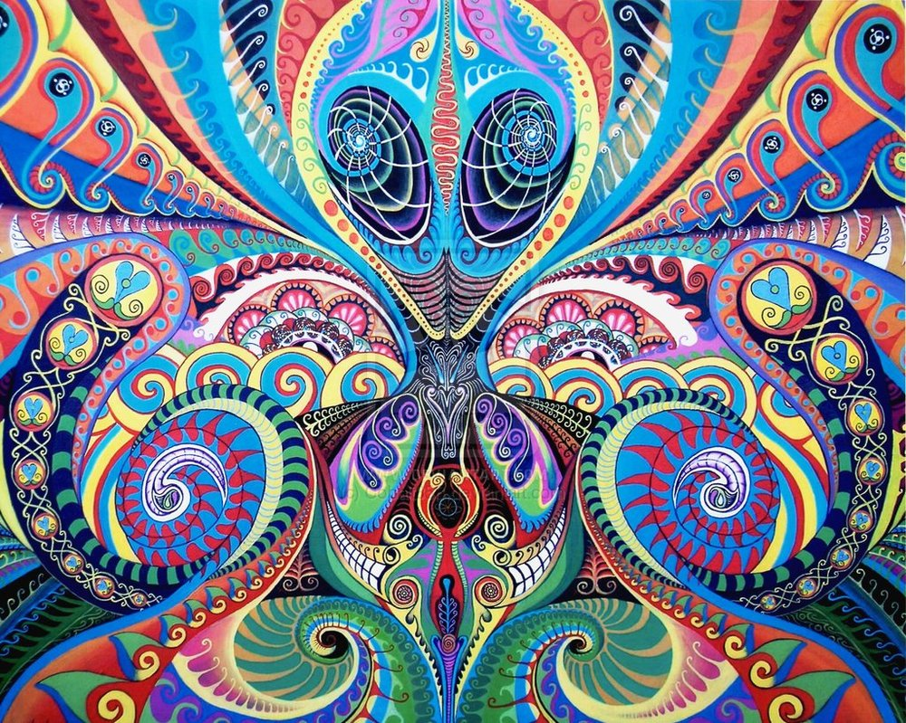 art aliens psychedelic - photo #5