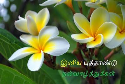 Iniya Puthandu Nalvazhthukkal   Happy New Year in Tamil