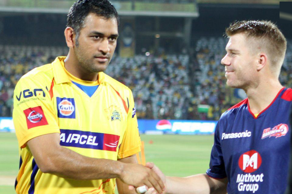 MS-Dhoni-David-Warner-CSK-vs-DD-IPL-2013